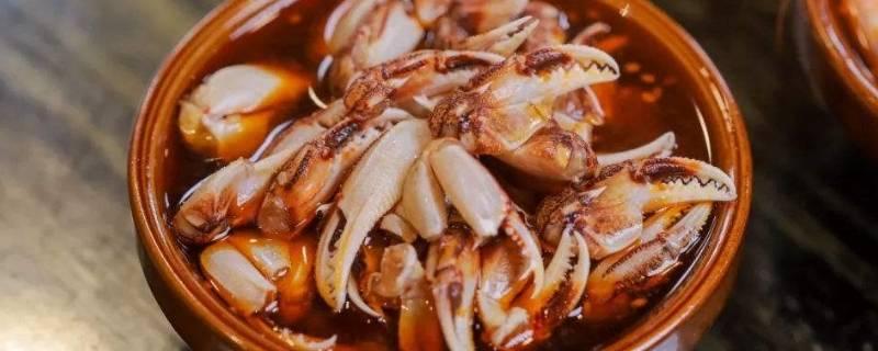 醉蟹钳是什么螃蟹的腿