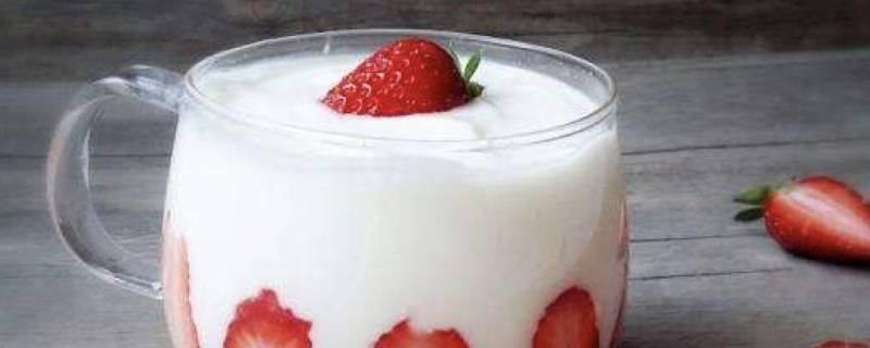 酸奶冰冻后可以吃吗