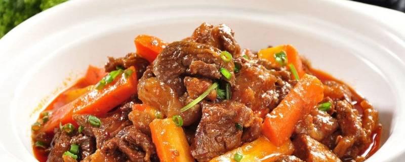 炒牛腩肉怎么炒好吃