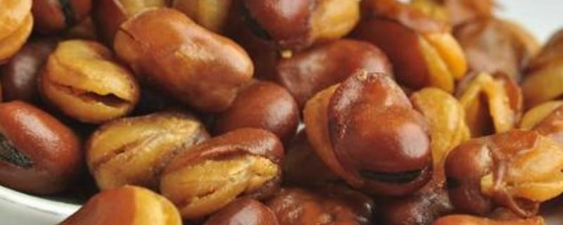 兰花豆的做法