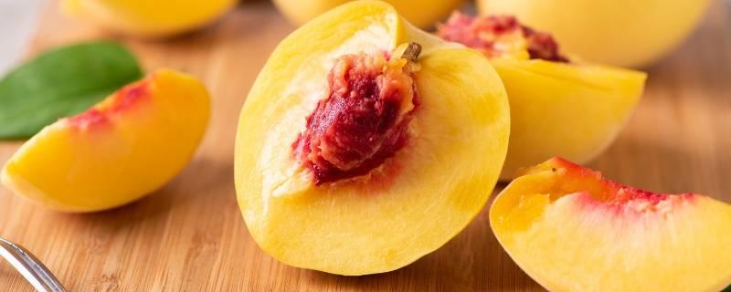 黄桃可以不削皮直接吃吗